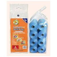 Best Pet Supplies AR1201 Blue Biodegradable Refill Bags 120 Bags