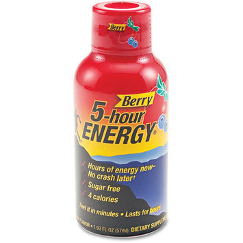 5 Hour Energy Shot Berry