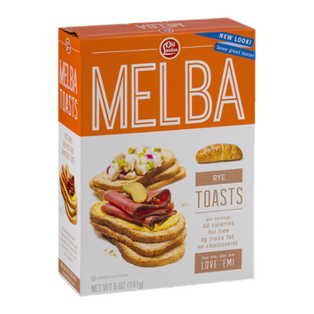 Old London Melba Rye Toasts