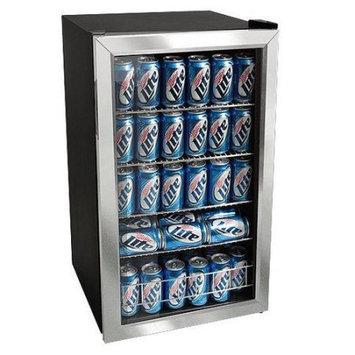 EdgeStar - EdgeStar 103 Can and 5 Bottle Extreme Cool Beverage Cooler - Black