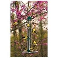 Birdquest Spiral Tube Feeder Green 17 Inch - SBF3G