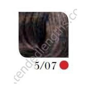 Wella Koleston Perfect Permanent Creme Haircolor 1:1 5/07 Light Brown/Natural Brown