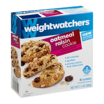 Weight Watchers Oatmeal Raisin Cookie - 8 CT