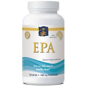 Nordic Pure Nordic Naturals EPA Formula, 1000 mg, 120 Soft Gels