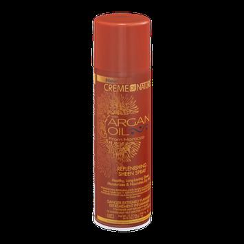 Creme Of Nature Replenishing Sheen Spray Agran Oil