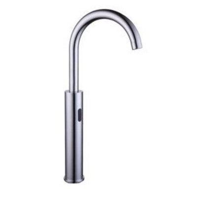 Goya Chrome Finish Brass Kitchen Faucet with Automatic Sensor