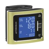 Veridian Healthcare Metallic Style Wrist Blood Pressure Monitor, Green, 1 ea