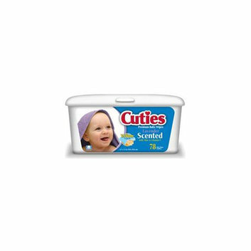 First Quality Cuties Quilted Baby Wipes-Scented