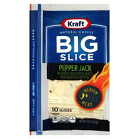 Kraft Big Slice Pepper Jack Cheese Slices 8 oz 10 ct