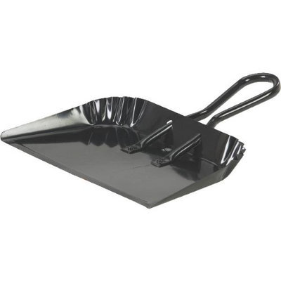 Harper Brush/ INCOM H495 Metal Dust Pan-JUMBO DUSTPAN