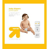 up & up Baby Diapers Jumbo Pack - Size 4 (31 Count)
