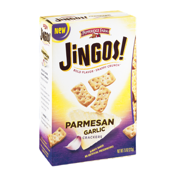 Pepperidge Farm Jingos! Crackers Parmesan Garlic