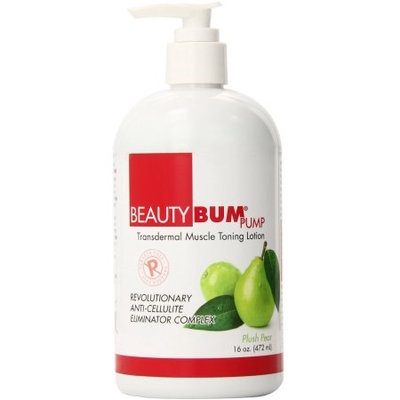 Beauty Fit Bum Pump Toning Lotion, Plush Pear, 16 Ounce