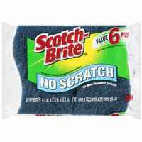 Scotch-Brite No Scratch Multi-Purpose Scrub Sponges