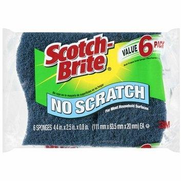 Scotch-Brite No Scratch Multi-Purpose Scrub Sponges