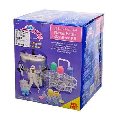 Baby King Plastic Bottle Sterilizer Kit 25 Pcs the