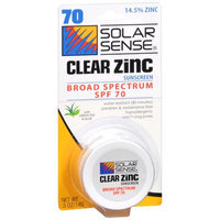 Solar Sense Clear Zinc Cream For Face & Lips