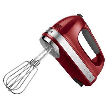 KitchenAid 9-Speed Hand Mixer- Empire Red KHM9212