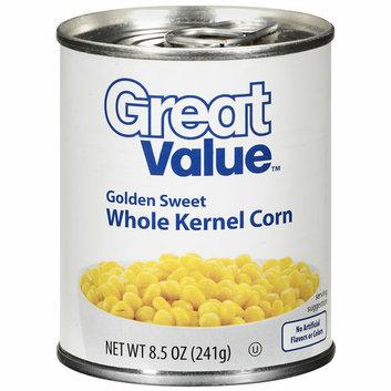 Great Value Golden Sweet Whole Kernel Corn