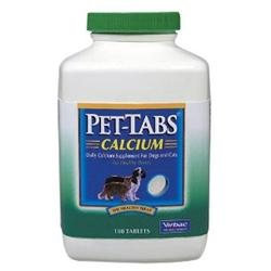 Pfizer Labs DPZ8052 Pet Tabs Calcium 180 Tablets