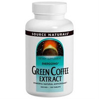 Source Naturals Green Coffee Extract - 500 mg - 30 Tablets