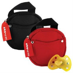 Diaper Bags Skip Hop Pacifier Pocket for Two Pacifiers - Black