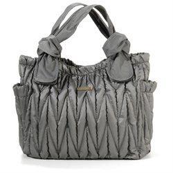 timi & leslie Marie Antoinette Tote Diaper Bag - Silver