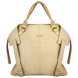 timi & leslie Charlie Tote Diaper Bag - Light Brown