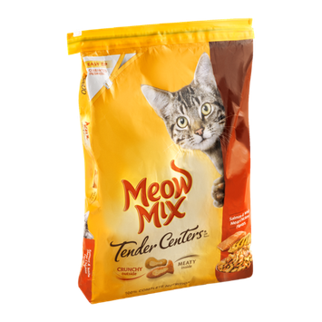 Meow Mix Tender Centers Cat Food Salmon & White Meat Chicken