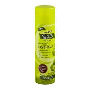 Palmer's Olive Oil Formula Clean Scent Dry Shampoo Tinted For Brown To Black Hair