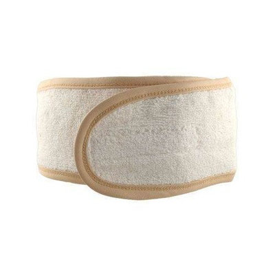 Spa Sister Deluxe Microfiber Hairband-Butter