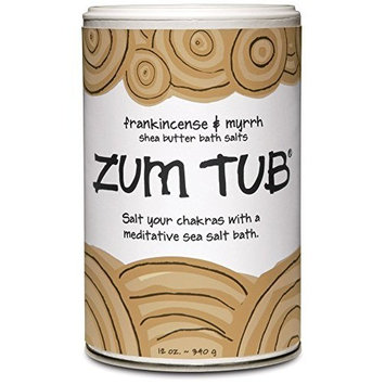 Indigo Wild Zum Tub Bath Salts, Frankincense and Myrrh, 12 Ounce