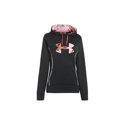 Under Armour Women's Storm Caliber Hoodie Black Med 1247106-001-MD