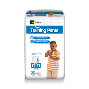 DG Toddler Training Pants for Boys 3T-4T - 23ct
