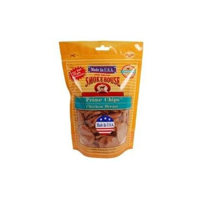Smokehouse Pet Products - Prime Chips Dog Treats Chicken Breast - 8 oz.