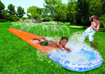 Manley Toys u.s.a., Ltd Soak N Splash 18 Ft. Water Slide with Splash Pool