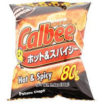 Calbee Potato Chips Hot and Spicy