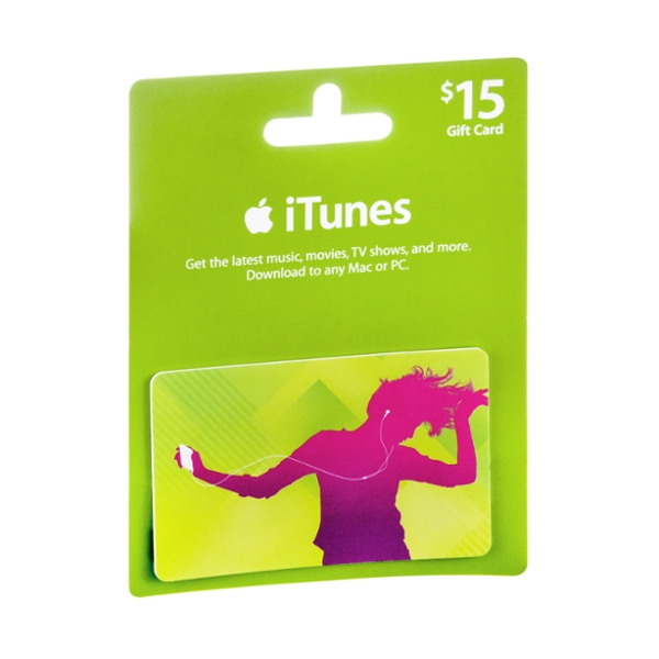 iTunes $15 Gift Card