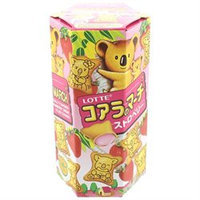 Lotte Koala's March Mini Cookies with Strawberry Filling