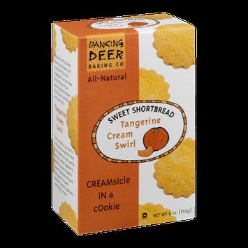 Dancing Deer Sweet Shortbread Cookies Tangerine Cream Swirl