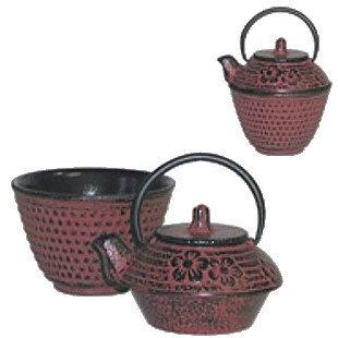 Chefgadget Mini Cast Iron Teapot And Cast Iron Tea Cup