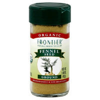 Frontier Natural Products Fennel Seed, Og, Ground, 1.60-Ounce