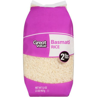 Wal-mart Stores, Inc. Great Value Basmati Rice, 2 lb