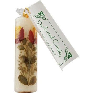 Flower Candle Vanilla Cylindrical, 2cm, Auroshikha Candles & Incense