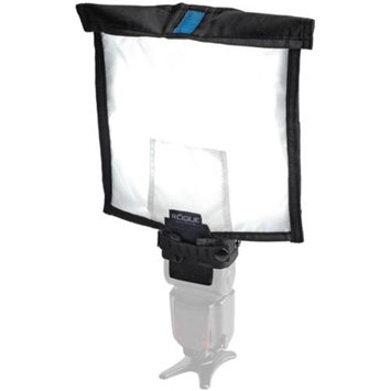 Rogue Large Soft Box Lighting Kit: Flashbender, Large Diffusion Panel & Silver/Black Attachment