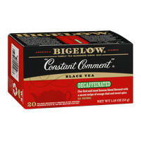 Bigelow Black Tea Decaffeinated Constant Comment - 20 CT