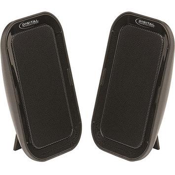 Digital Innovations Micro Innovations Acoustix Deluxe Portable Speaker System