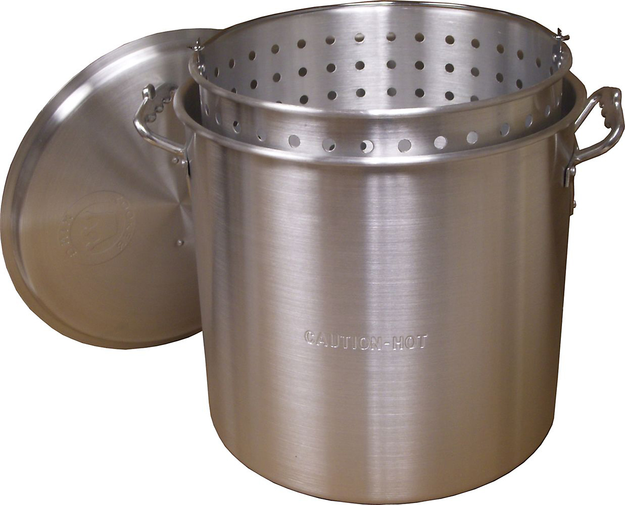 King Kooker 120 Qt. Aluminum Boiling Pot