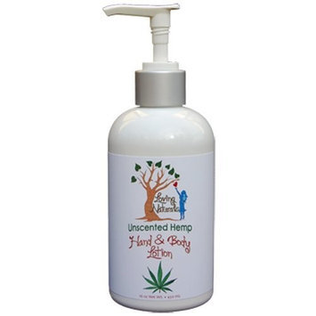 Loving Naturals Unscented Hemp Hand and Body Lotion 16-Ounce