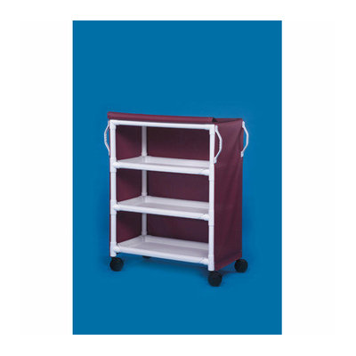Innovative Products Unlimited Deluxe 3 Shelf Linen Cart